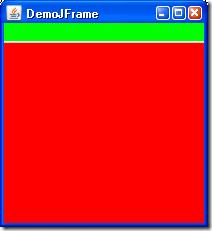 JFrame mit Menu und befüllter ContentPane