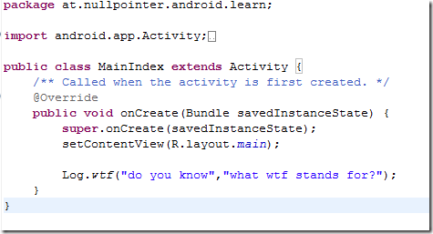Java - WTF Question