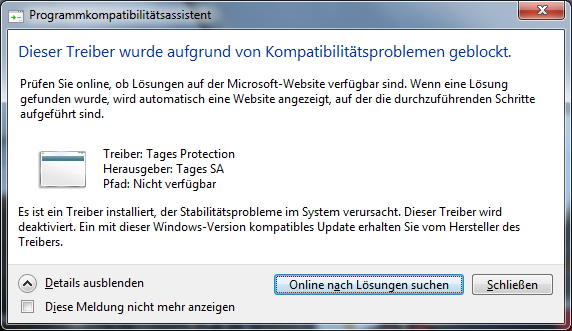 welche windows version ist installiert