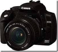 Canon EOS 350D unter Windows 7