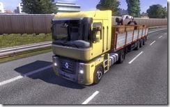 LKW transportiert Kisten