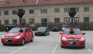 Google Street View Autos